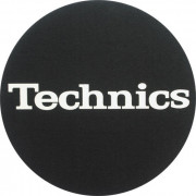 Technics Slipmats Logo White