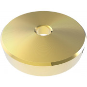 Zomo 7 inch Single Adapter - gold
