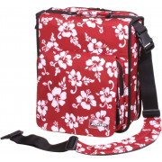 Zomo CD-Bag Large Premium Flower LTD - red/black