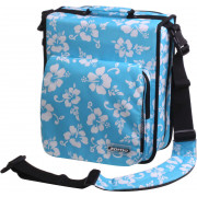 Zomo CD-Bag Large Premium Flower LTD - blue/black