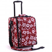 Zomo CD Trolley Premium Flower - red/black