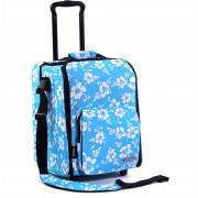 Zomo CD Trolley Premium Flower - blue/black