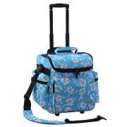 Zomo DJ-Trolley Flower Ltd. - blue