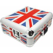 Zomo Flightcase SL-12 XT | Technics SL-1200 / SL-1210 - UK-Flag