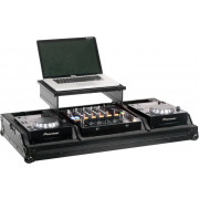 "Zomo Set 200 Plus NSE - Flightcase 2x CDJ-200 + 1x 12"" Mixer + Notebook"